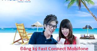 Hướng dẫn đăng ký gói cước 3G Fast Connect Mobifone