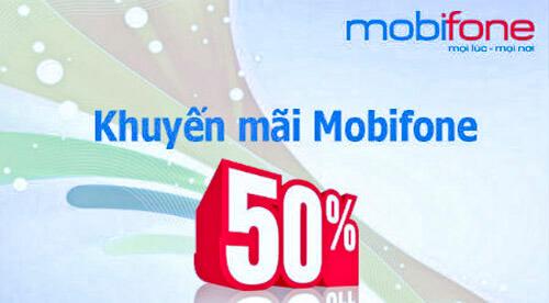 Khuyến mãi nạp thẻ MobiFone - Ngày 05/09/2017