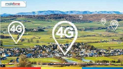 Các vùng phủ sóng mạng 4G MobiFone hiện nay