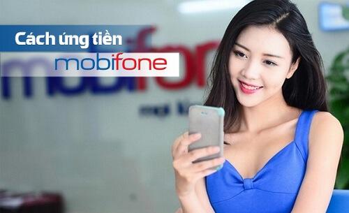 Cách ứng tiền MobiFone nhanh cho thuê bao trả trước