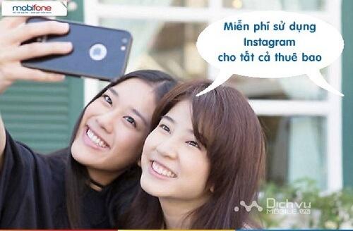 Gói Instagram Data 4G chỉ 20k/tháng của MobiFone khiến sao Việt hào hứng