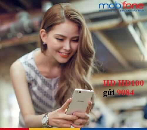 Hướng dẫn đăng ký 4G gói HDP100 MobiFone nhận 3GB, 100 phút gọi