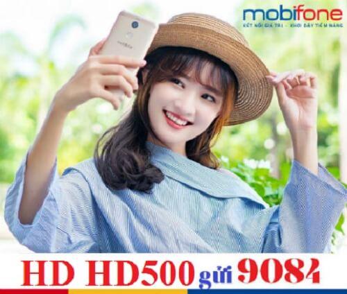 Dùng 4G thoải mái với 32GB/30 ngày khi đăng ký HD500 MobiFone