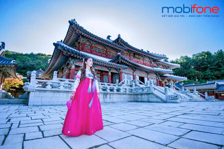 Đăng ký gói cước chuyển vùng quốc tế khi đi Hàn Quốc