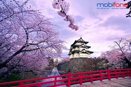 Gói cước chuyển vùng quốc tế MobiFone tại Nhật Bản giá rẻ