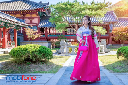 Đăng ký gói cước RH MobiFone - Chuyển vùng quốc tế MobiFone tại Hàn Quốc