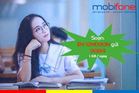 Đăng ký gói cước 12HD90N Mobifone lướt web cả năm với ưu đãi 360GB