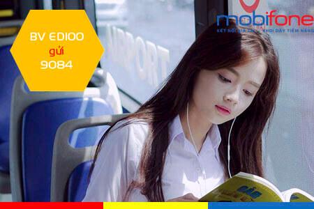 Đăng ký gói cước ED100 MobiFone ưu đãi 60GB, học online 30 ngày